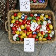 Stock Photo: Annual easter fair at the Main Market Square. Krakow, Poland