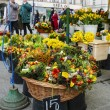 Annual easter fair at the Main Market Square. Krakow, Poland — Stock Photo