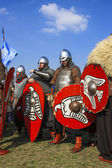 Rekawka annual international medieval spring festival, Krakow, P — Stock Photo
