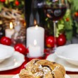 Festive braided bread — Stockfoto