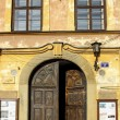Stock Photo: Historic city center of Krakow. XIX century tenements