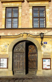 Historic city center of Krakow. XIX century tenements — Stock Photo
