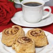 Cinnamon rolls — Stock Photo