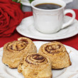 Stock Photo: Cinnamon rolls