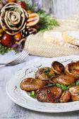 Saffron milk cap mushrooms — Stock Photo