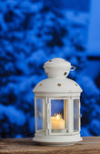 Lantern with copy space — Stock Photo