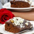 Stock Photo: Gingerbread cake. Selective focus