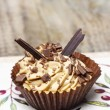 Stock Photo: Toffee cupcakes
