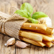 Stock Photo: Traditional italibreadsticks