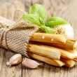 Traditional italibreadsticks — Stock Photo #40117543