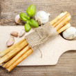 Traditional italibreadsticks — Stock Photo #41354109