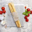 Traditional italibreadsticks — Stock Photo #41358491