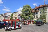 Kazimierz, former jewish quarter in Krakow — Stock Photo