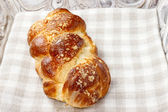 Loaf of sweet bread — Stock Photo