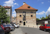 Europeum - European Culture Center in the Old Granary at the Sik — Stock Photo