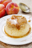 Creme caramel — Stock Photo