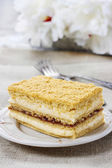 Layer honey cake — Stock Photo