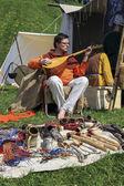 Rekawka, yıllık uluslararası Ortaçağ Bahar Şenliği, Krakow, — Stok fotoğraf
