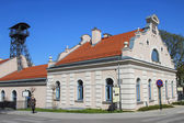 Salt Mine and the historic Regis Shaft, Wieliczka, Poland. — Stok fotoğraf