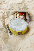CIRCA 1903: Vintage compact powder. Cosmetics by H. Kielhauser b — Foto Stock