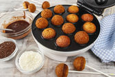 How to make cake pops - tutorial — Stockfoto