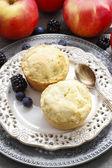 苹果的松饼 — 图库照片