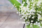 Blumenstrauß maiglöckchen — Stockfoto