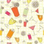 Cocktails vector illustration — Stock Vector #21836271