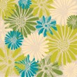 Retro floral seamless background — Stock Vector #22785926