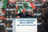 Silvio Berlusconi — Stock Photo