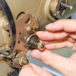 Sewing mashine - Stock Photo