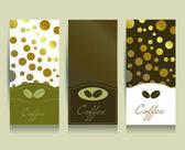 Coffe menu card. Vector. — Stock Vector