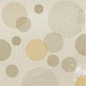 Wallpaper design. Circle design. — Stock Vector