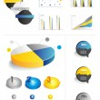 Collection of infographics elements. — Stock Vector
