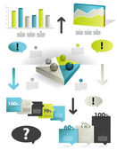 Infographics set elements. — Stock Vector