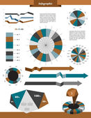 Infographic collection. — Stock Vector