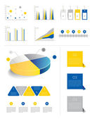 Infografiken-sammlung. — Stockvektor