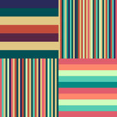 Colorful stripes background. Vector background. — Vector de stock