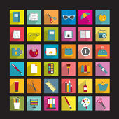 Collection of various icons. — Stock Vector