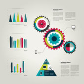 Info graphic set elements. — Stock Vector