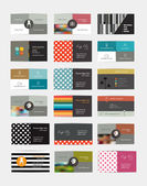 Big set of business cars design. Vector. — Stockvektor
