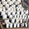 Oil and gas storage in port — Stock Photo