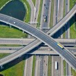 Road interchange — Stock Photo