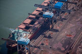 Docks du chantier naval — Photo