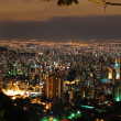 Belo Horizonte by night. — Stock Photo