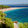 Golden Cape on Brac island, Croatia - Stock Photo