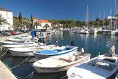 Milna on Brac island, Croatia — Stock Photo