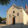 Foto de Stock  : Church in Postiron Brac island, Croatia