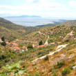 Spectacular picturesque summer landscape of Hvar coast, Croatia — Stock Photo