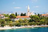 Sumartin på ön brac, kroatien — Stockfoto